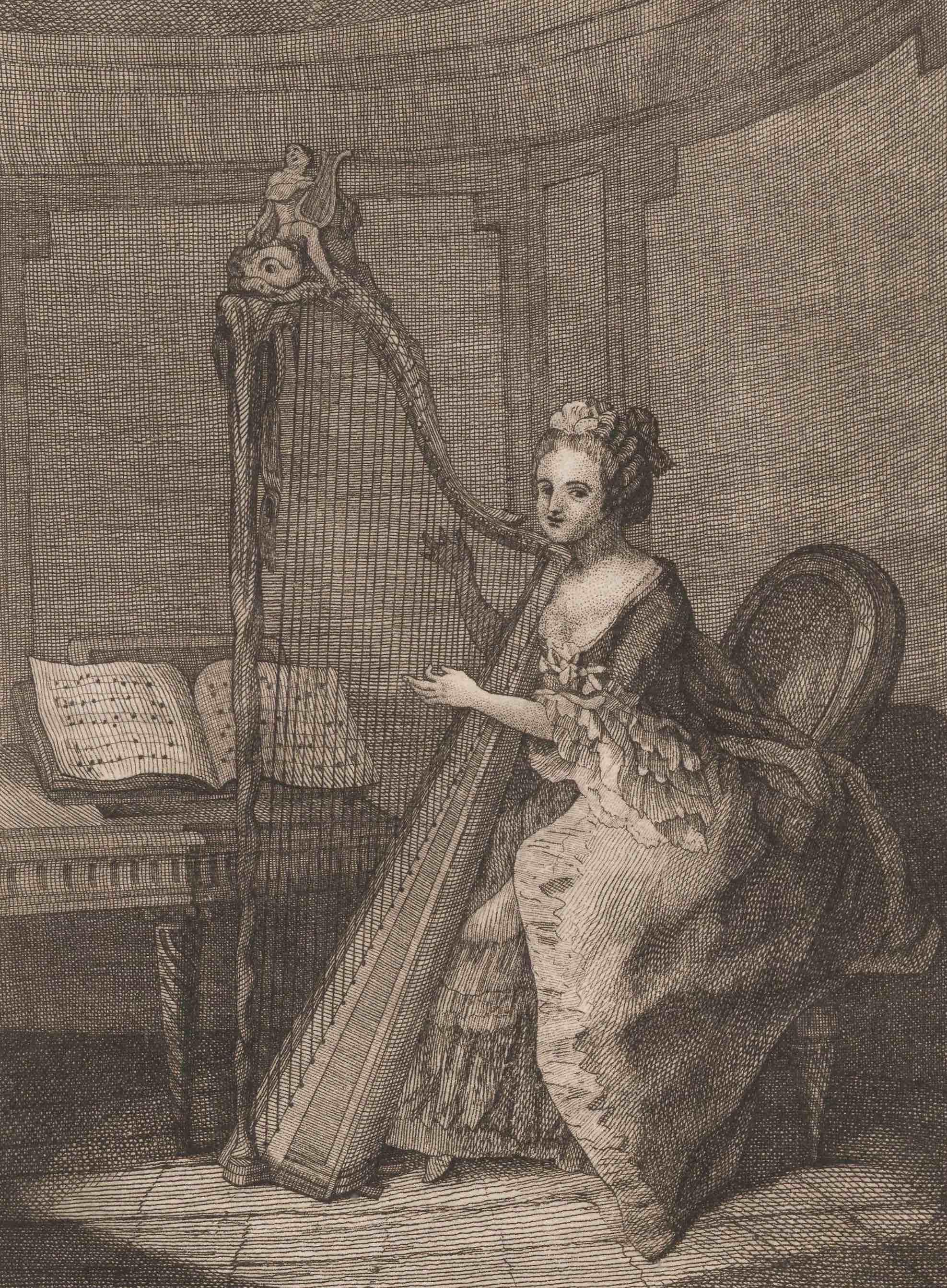 UniM Bail Music RB f  787.95193 CORR <br> Michel Corrette, author ;  <br> Nouvelle méthode pour apprendre à jouer de la harpe   <br> Paris , 1774 <br> Harp method
