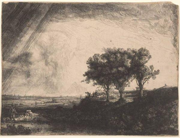 Three trees, 1643