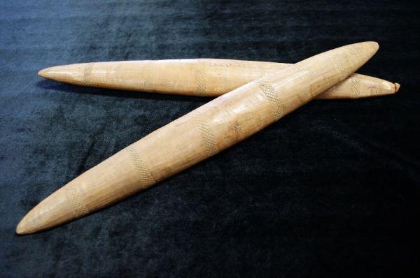 Unknown maker (Australian, Gunditjmara) Bilma (clapsticks)