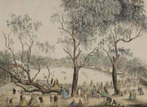 Melbourne Cricket Ground (1st January 1864), 1864