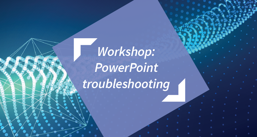 """Image for PowerPoint """"troubleshooting session"""" (Visualise Your Thesis)"""