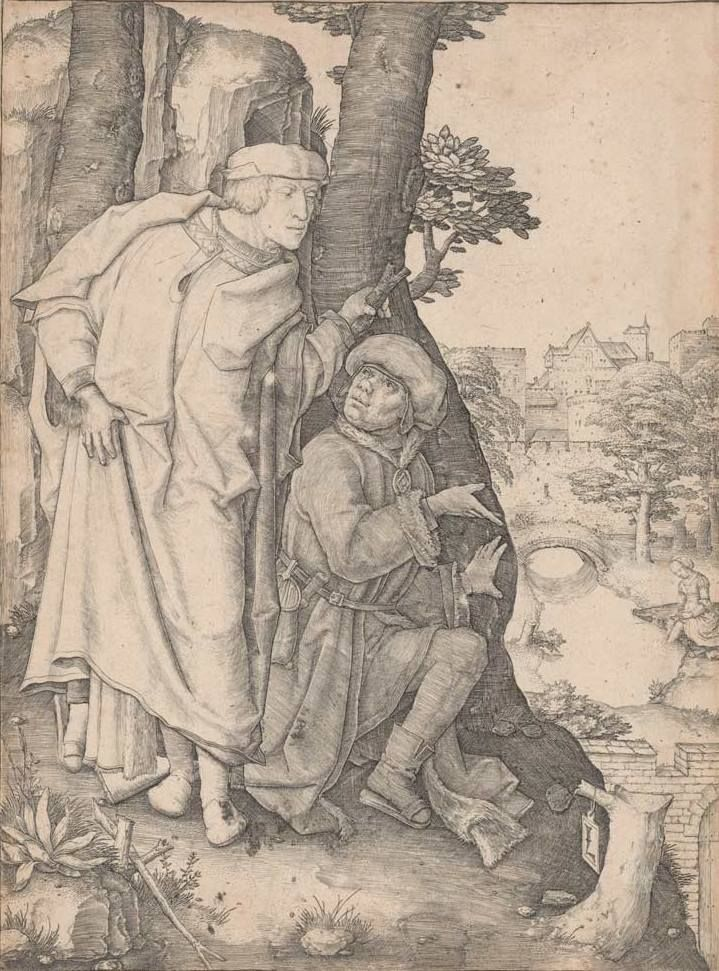 Susanna and the elders, c. 1508