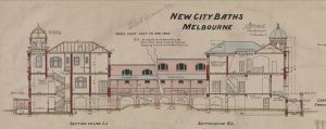 Melbourne City Baths, 1904