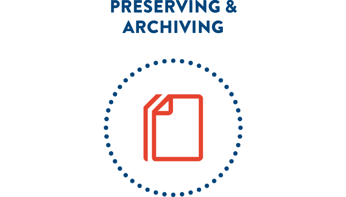 Preserving and archiving