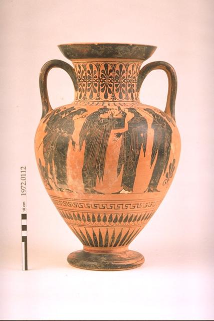 Neck amphora, c. 515–505 BCE