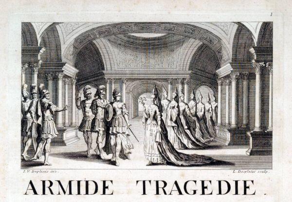 UniM Bail Music RB f  Q L956 ARM.1 <br> Jean-Baptiste Lully, composer ; Philippe Quinault, librettist <br> Armide: tragedie mise en musique  <br> Paris , [1686] <br> Printed score