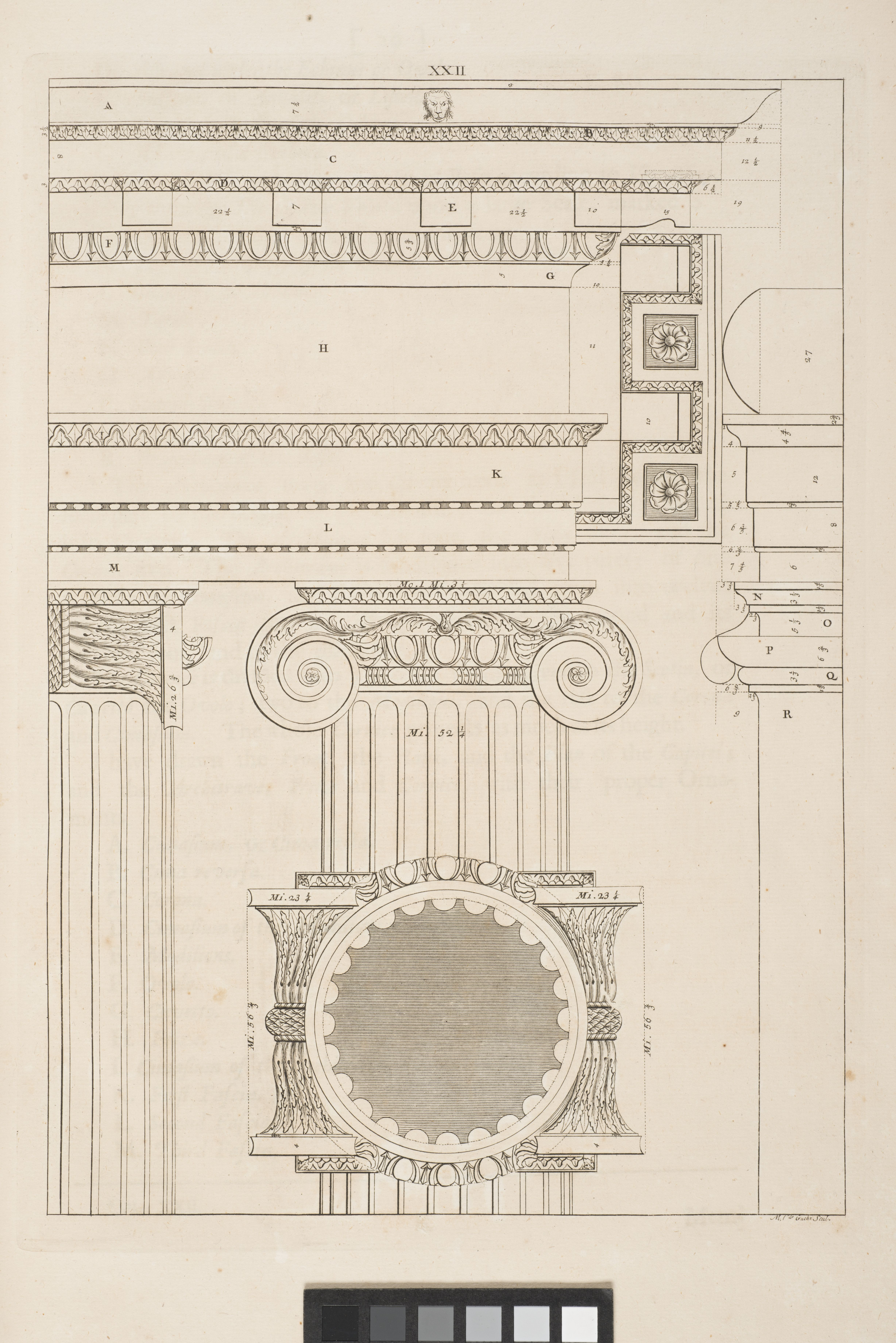 The architecture of A. Palladio