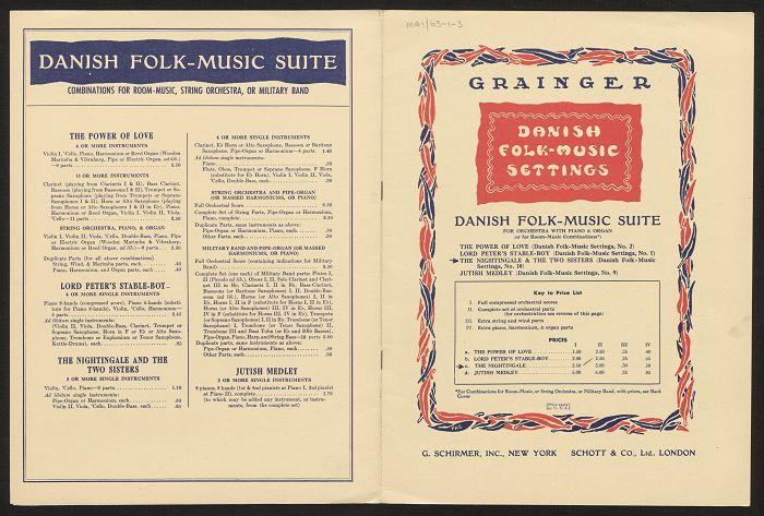 Danish folk-music suite