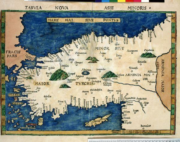 Tabvla nova Asie Minoris (New map of Asia Minor)