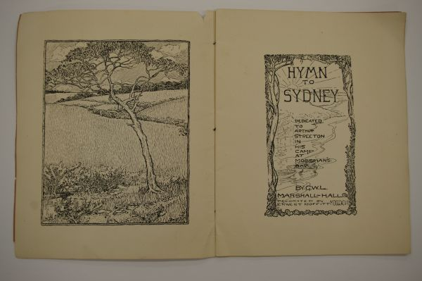 Hymn to Sydney: Dedicated to Arthur Streeton in his camp at Mossman's Bay