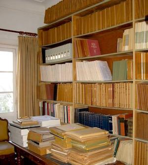 Interior of EOL archive. Monaco.