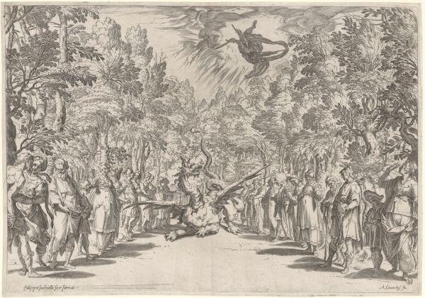 Apollo and the python, c. 1589–92