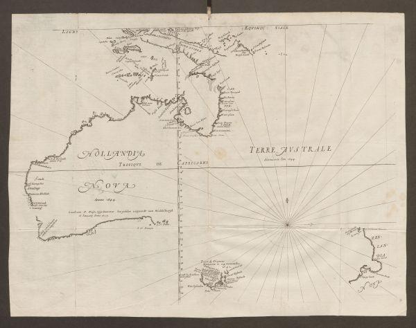 Hollandia Nova / Terre Australe